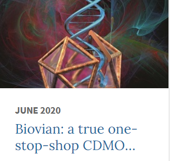 Biovian in Biopharma Dealmakers' June edition