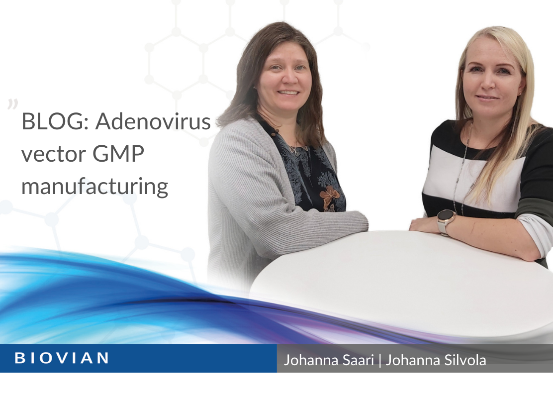 Adenovirus vector GMP manufacturing_blog