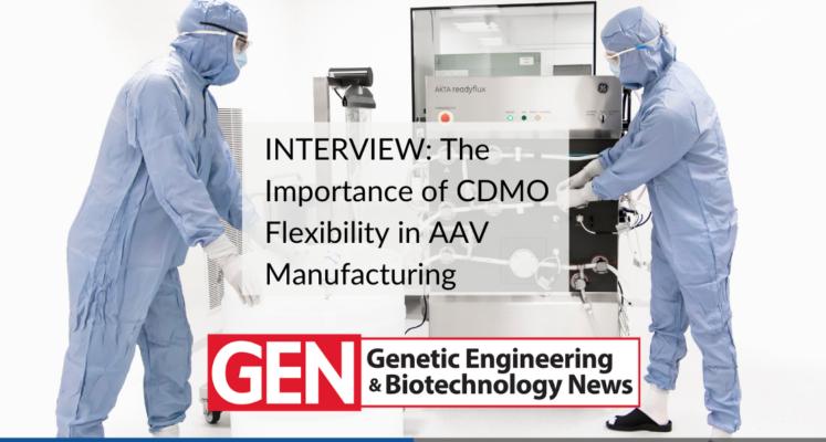 GEN interviews Biovian about AAV manufacturing